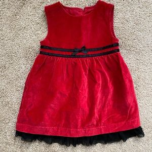 George Formal Sleeveless 24 month Red Dress